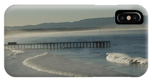 Early Morning Surf Pismo Beach IPhone Case