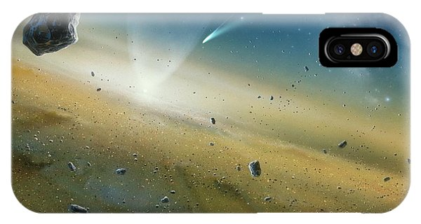 Early Solar System IPhone Case