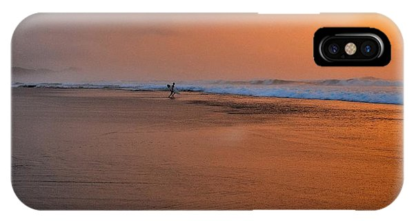 Dawn Sea Man Harmony IPhone Case