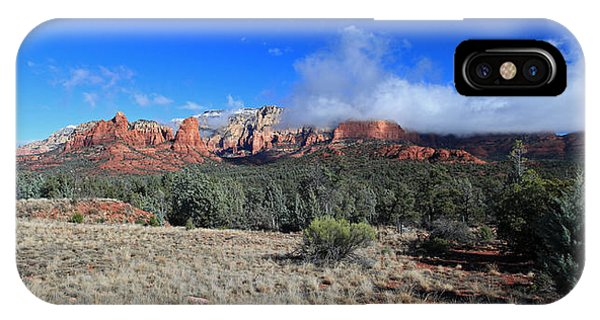 Early Winter Pano IPhone Case