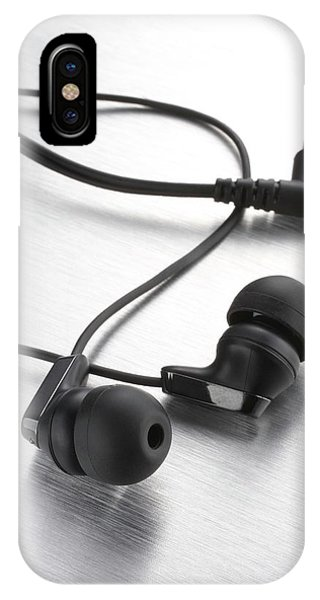 Earphones Using Neodymium Magnets Phone Case by Science Photo Library