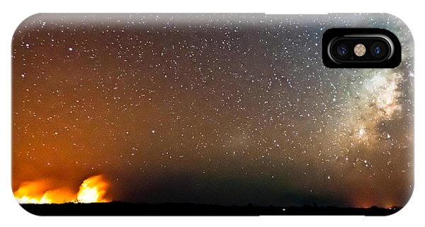 Earth And Cosmos IPhone Case