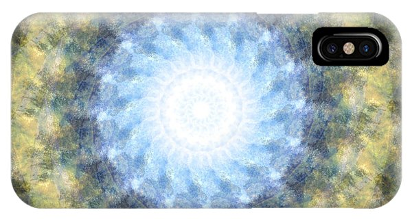 Earth And Sky Mandala Kaleidoscope IPhone Case