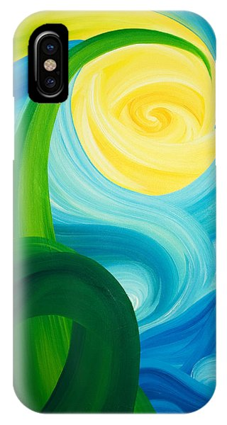 Earth And Sky Meet IPhone Case