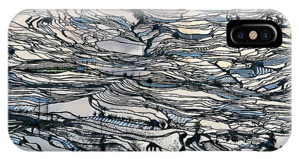 Asia iPhone Case - Earth Carpet by George Doupas