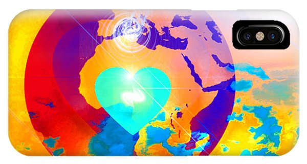 Earth Changes IPhone Case