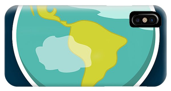 Space iPhone Case - Earth by Christy Beckwith