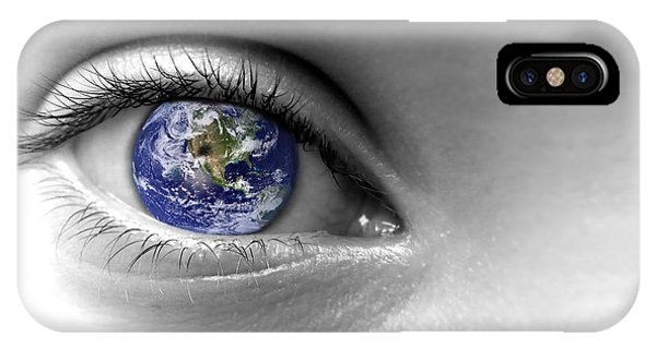 Virtual iPhone Case - Earth Eye by Delphimages Photo Creations