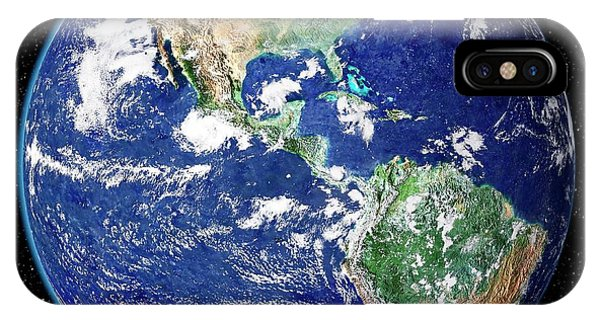 South Pacific Ocean iPhone Case - Earth From Space by Nasa Goddard Space Flight Center (nasa-gsfc)