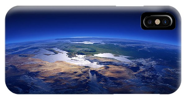 Dark Clouds iPhone Case - Earth - Mediterranean Countries by Johan Swanepoel