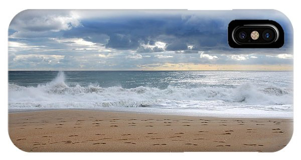 Earth's Layers - Jersey Shore IPhone Case