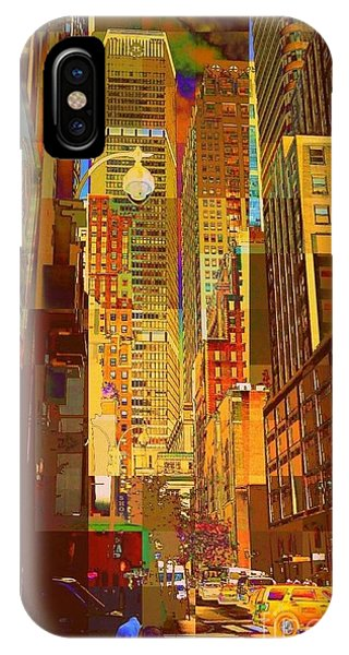 East 45th Street - New York City IPhone Case