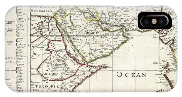 East Africa iPhone Case - East Africa And The Middle East by British Library