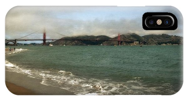 East Beach And Golden Gate IPhone Case