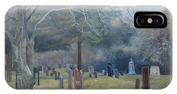 East End Cemetery Amagansett IPhone Case