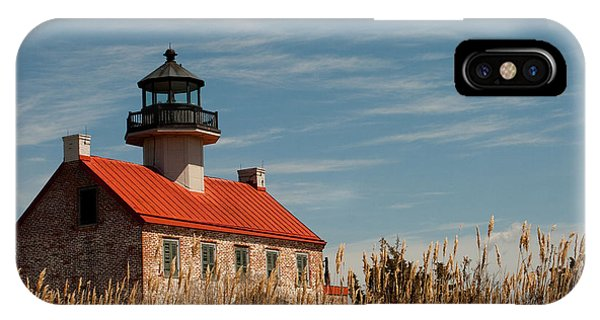 IPhone Case featuring the photograph East Point Across The Marsh by Kristia Adams
