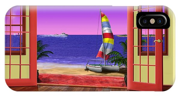 East Point At The Bay Phone Case by Patrick Belote