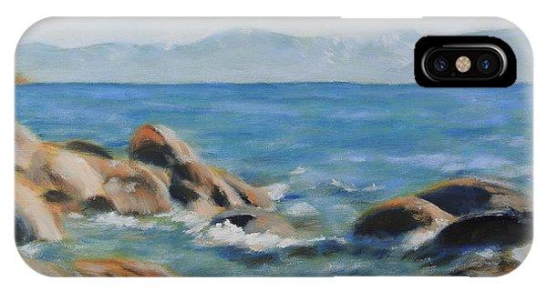 East Shore Rocks IPhone Case