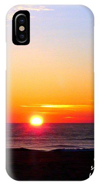 East. Sleep. Beach Sunrise IPhone Case