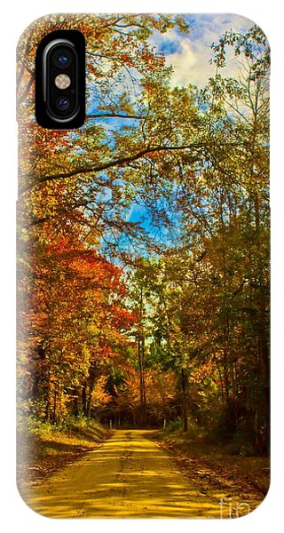 East Texas Back Roads Hdr IPhone Case