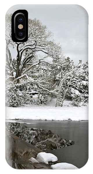 East Verde Winter Crossing IPhone Case