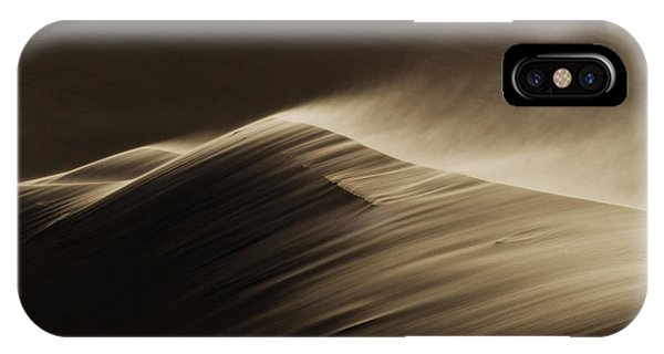 Dunes iPhone Case - East Wind In The Namib Desert by Xenia Ivanoff-erb