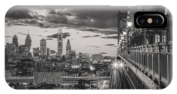 Eastbound Encounter In Black And White IPhone Case