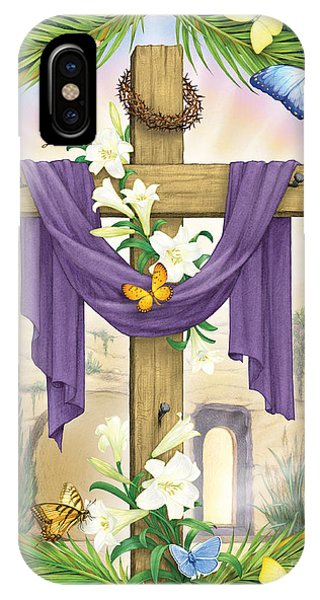 Easter Cross IPhone Case