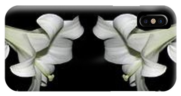 Easter Lilies Panorama IPhone Case