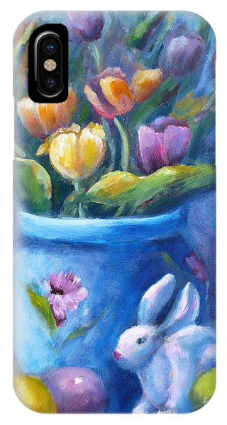 Easter Still Life IPhone Case