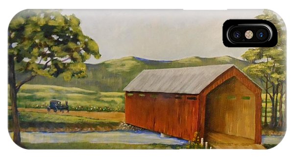 Eastern Covered Bridge IPhone Case