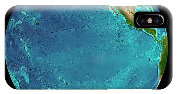 South Pacific Ocean iPhone Case - Eastern Pacific Ocean by Martin Jakobsson/science Photo Library