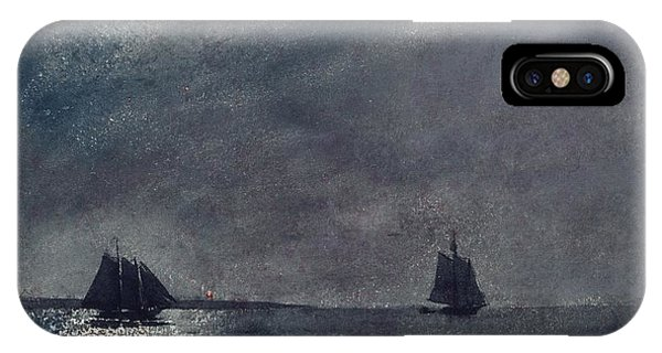 iPhone Case - Eastern Point Lighthouse by Winslow Homer