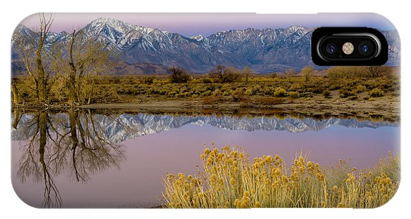 Eastern Sierra Dawn IPhone Case
