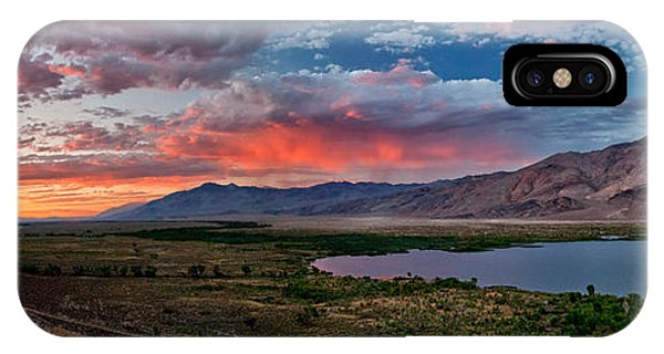 Eastern Sierra Sunset IPhone Case