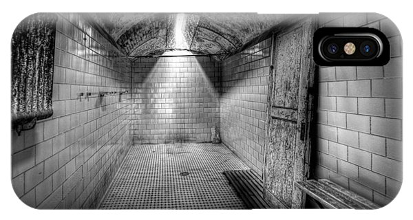 Nikon iPhone Case - Eastern State Penitentiary Shower by Michael Ver Sprill