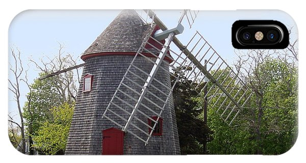 Eastham Windmill Phone Case by Catherine Gagne