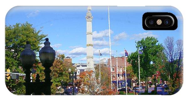 Easton Pa - Civil War Monument IPhone Case