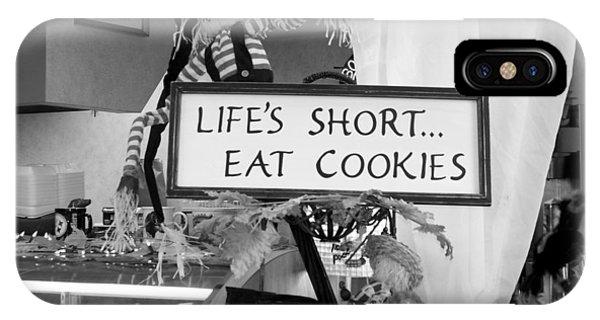 Eat Cookies IPhone Case