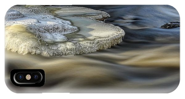 Eau Claire Dells Park River Ice IPhone Case