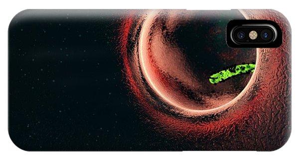 Virus iPhone Case - Ebola Virus Particle by Karsten Schneider