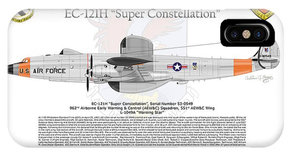 Ec-121h Super Constellation IPhone Case