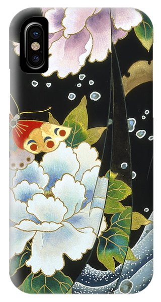 Peony iPhone Case - Echigo Dojouji   by MGL Meiklejohn Graphics Licensing