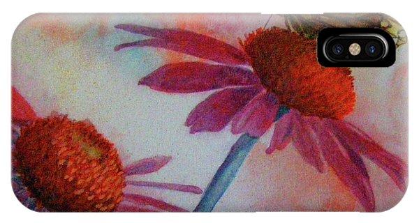 Echinacea Fritillaria IPhone Case