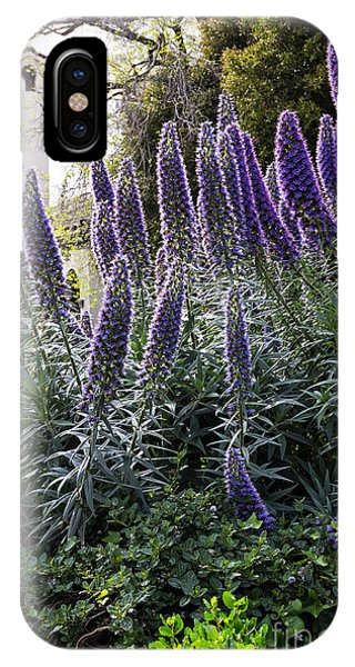 Echium And Tower IPhone Case