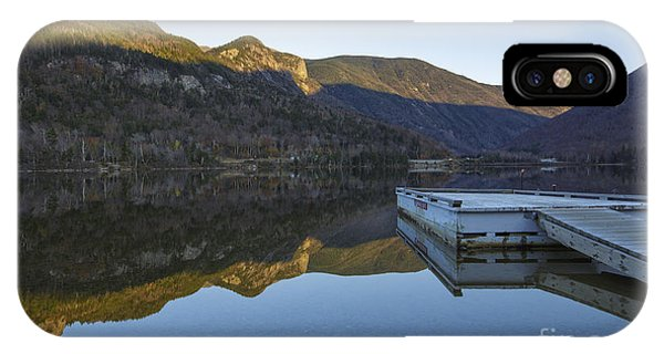 Echo Lake - Franconia Notch State Park New Hampshire Usa IPhone Case
