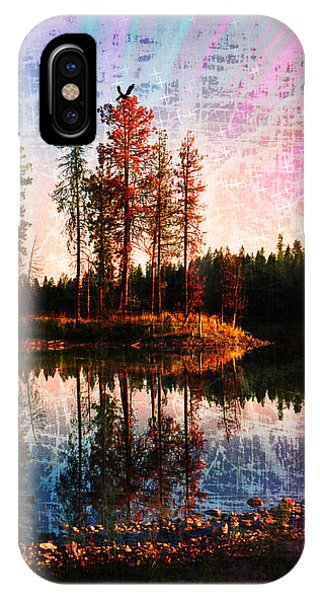 IPhone Case featuring the photograph Echo Lake In Montana by Deahn   Benware
