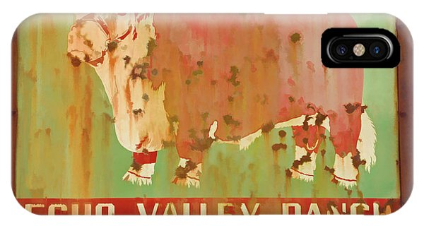 Echo Valley Ranch Stylized IPhone Case