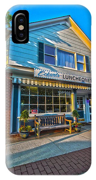 Eckarts Luncheonette IPhone Case