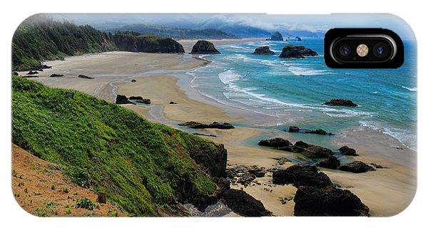 Ecola State Park Beach IPhone Case